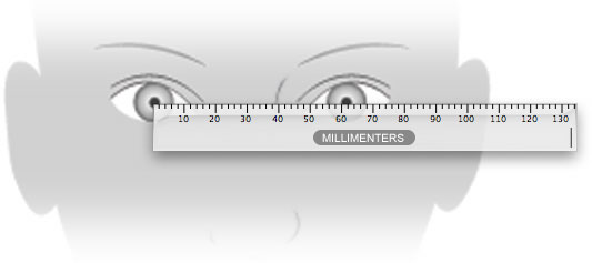 how to find your pupillary distance