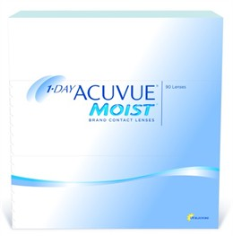 1-Day Acuvue Moist<br>(90 pack)