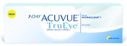 1-Day Acuvue TruEye<br>90 pack)