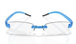 2.5 Eyephorics Rimless Eyeglasses<br>2.5 Wide